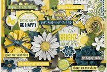 {Good Day Sunshine} Digital Scrapbook Collection by Aprilisa Designs