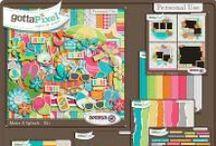 {Make A Splash} Digital Scrapbook Collection by Aprilisa Designs