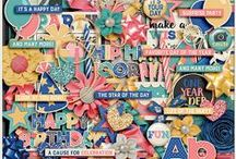 {A Very Happy Birthday} Digital Scrapbook Kit by Aprilisa Designs
