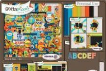 {Bits and Bots} Digital Scrapbook Collection by Aprilisa Designs