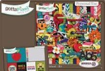 {Rock The School} Digital Scrapbook Kit by Aprilisa Designs