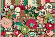 {Gingerbread} Digital Scrapbook Collection by Aprilisa Designs