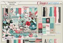 {Winter Memories} Digital Scrapbook Collection by Aprilisa Designs