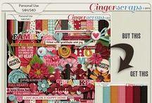 {Full Hearts} Digital Scrapbook Kit by Aprilisa Designs