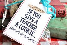 Teacher Appreciation / Gift ideas for teacher appreciation week, Christmas, Valentine's Day, and other holidays.  Also ideas for teachers to give parent volunteers.