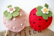 Fun: Strawberry Sweetness / Everything strawberry...from the fruit, to the color, to the craft, to the decoration! :)