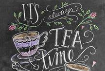 Tea Time / Tea, recipes, tablescapes, tea cups and pots, party ideas and brewing tea!