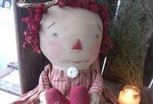 Raggedy Annie Dollys