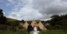 Tipi Wedding / Lots of lovely tipi weddings.  Wedding details, decor, bridal prep, groomsmen and brides, plus portraits, groups shots and venues for funky relaxed festival inspired tipi weddings