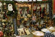 Craft Booth Displays / Primitive and farmhouse style craft booth displays