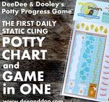 Potty Progress Game / All about DeeDee & Dooley's Potty Progress Game - the daily potty training aid that works like a chart but plays like a GAME!