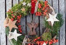 Wreaths and Primitive Decorations / Primitive, vintage, whimsical wreaths and decorations!