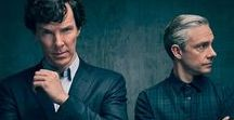 Sherlock / Sherlock Holmes (Benedict Cumbermatch) And John Watson (Martin Freeman). For The Love Of This Serie <3 :), One Of The Best TV Show In The World