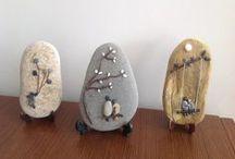 Stoned / Pebble & Rock art / by Debbie Bradley