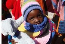 Charity Crafting / I've recently started wonting with CreateCare Global (http://create-care-global.org) to knit squares to provide blankets for vulnerable children