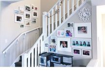Wall Galleries Inspiration / Photo wall gallery inspiration for the home
