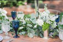 Party Glam | Garden Party Themed Reception / There is nothing like a beautiful English garden. Inspiration for an outdoor garden party theme. #gardenpartyreception #romanticbride