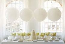 Party Glam | With Balloons / Balloons are not just for kid parties. They can be gorgeous to accent your event.