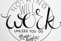 Quotes {Inspiration}