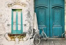 Always Glam | Pretty Doors / Pretty doorways to celebrate your home. #homedecor #prettydoors