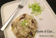 Le ricette di Elisir / by GialloBlogs