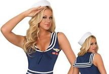 Sailors & Sea / FREE SHIPPING on Sexy Sailor Costumes for Women, Sailor Outfit, Sailor Uniform, Sexy Sailor Halloween Costumes. Best Sexy Mermaid Costumes for Women, Adult Mermaid Costume, Princess Mermaid Halloween Costumes, Women's Sailor Costumes and Mermaid Costumes are in Stock. / by 3WISHES.COM