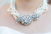 My Glam | Everistta Wedding Day / A peek at the wedding day details of my own big day. Bridal and Bridesmaid jewelry was designed by me. www.everistta.com. All photos courtesy of www.jillgately.com #fallwedding #ido