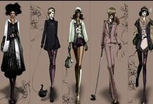 Fashion Sketches / A collection of inspirations and aspirations in fashion design and sketching. / by Beatrice Joseph