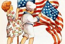 USA and all things Patriotic / Let's Celebrate our Independence! / by Mary Beattie