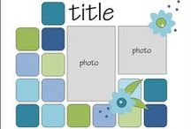 Sketches / Need some inspiration for your cards of scrap'n layouts?  Try these!