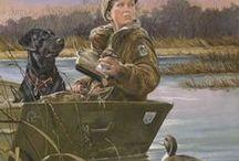 Duck hunting (Justin)