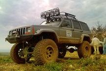 Jeep Cherokee Style / Jeep Cherokee and Grand Cherokees. The most popular off road SUV made in America! / by Morris4x4Center.com