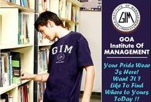 Goa Institute Of Management | GIM GOA / Goa Institute Of Management Merchandise like - T-Shirts, Polos, Caps, Hoodies, Mugs, Flags, bumper stickers, etc.