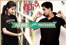 NDIM - New Delhi Institute of Management (PGDM) / NDIM - New Delhi Institute of Management (PGDM) Merchandise Like - T-Shirts, Polos, Caps, Hoodies, Mugs, Flags, bumper stickers, etc.