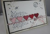 Valentines and I Love Yous / Heart-shaped and Valentine themed cards for any sweetheart in life / by Dawn Froehlich