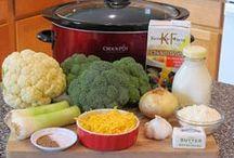 Crazy for Crock Pots / Heathy crock pot menu ideas