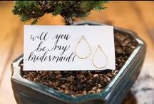 Give Glam | Bridesmaid Gifts / Ideas to ask your best friends to be bridesmaids and gift ideas for having your bridesmaids in your wedding. Give your bridesmaids something glam and unexpected. Jewelry for the big day is always a great choice. Make it custom to match their style and your day. #bridesmaid #bridesmaidgiftidea #willyoubemybridesmaididea #maidofhonorgift