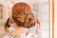 Get Glam | Bridal Hair & Makeup / Ideas for glamorous bridal hair. #bridalhairideas #bridalstyle #ido #engaged