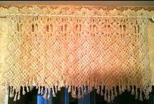 macrame curtain / Макраме шторы, curtain