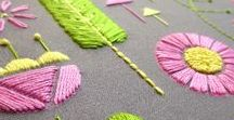 Spring Stitching & Sewing Crafts / DIY spring crafts for the person who likes sewing and embroidery!