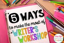 Classroom: Writing / Writing, writer's workshop, writing workshop, mentor texts, mini-lesson ideas, resources, and curriculum all related to WRITING!