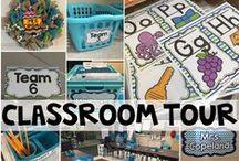 Classroom: Decor / Ideas for decorating and arranging a classroom.