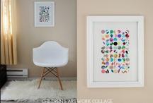 { Childrens' Art Gallery } / Beautiful ways to display their work.