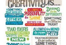 Be Creative!