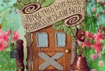 Fairy Doors / A collection of enchanted miniature fairy doors in our miniature fairy gardens.