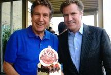 Eli's Hall of Fame / Pictures of Eli's Famous Fans & Big Cakes over Eli's 34 year History