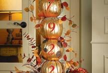 Fall decorations / by Elizabeth Van Dyk