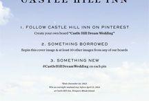 Castle Hill Dream Wedding #castlehilldreamwedding / #castlehilldreamwedding making magic! / by Catherine Cummings