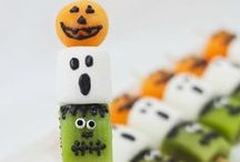 Halloween Healthy Treats / Halloween doesn't have to be all about sugar - let's get creative!