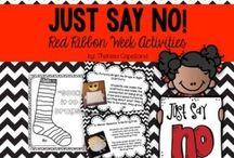 Classroom: Red Ribbon Week